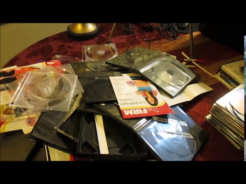 Clearing The Clutter - Sunday Morning (DVD's/CDs DeClutter and Organization)