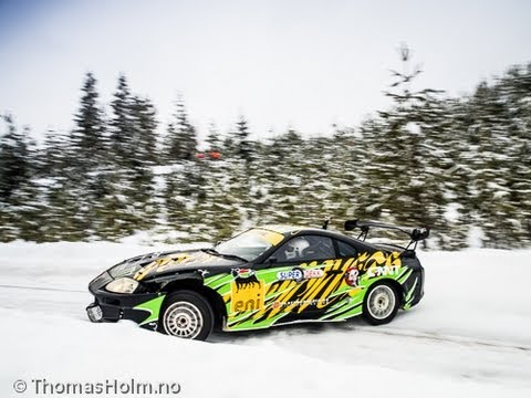 Meanwhile in Norway/Supra Rally car