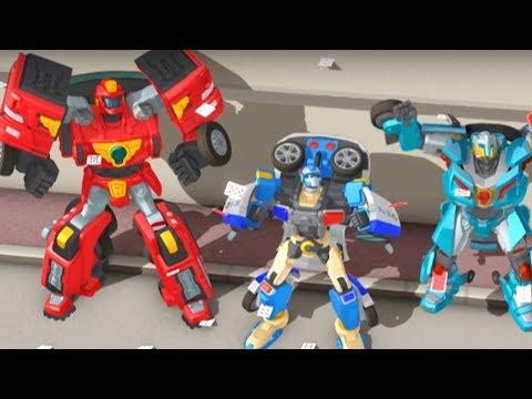 Тоботы новые серии - 10 Серия 3 Сезон - мультики про роботов трансформеров [HD]