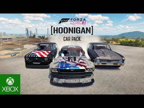 Forza Horizon 3 Hoonigan Car Pack Video