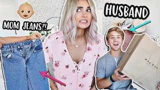 HUSBAND Buys BACK TO SCHOOL Clothes For WIFE! | Aspyn Ovard