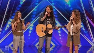 America's Got Talent 2016 Edgar A Family Singing Trio Full Audition Clip S11E02