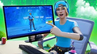 I hacked this YOUTUBERS Fortnite account...