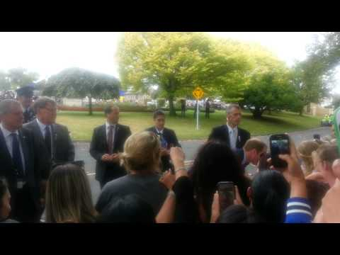 Prince William and Kate Royal Tour in Cambridge, New Zealand 12/04/2014