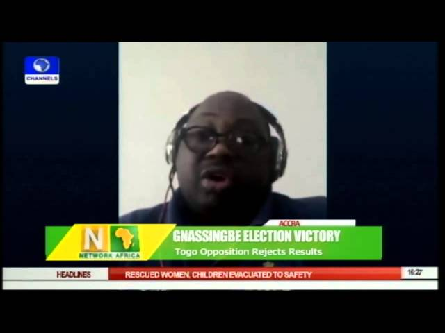 Dele Momodu Reacts To Gnassingbe's Victory As Opposition Rejects Result pt.2 30/04/15
