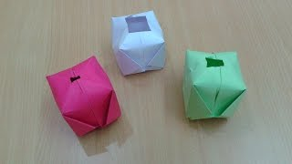 How to Make a Paper Ball/Paper Water Bomb (DIY Paper Origami)