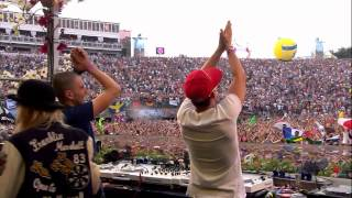 Dimitri Vegas and Like Mike at Tomorrowland 2012