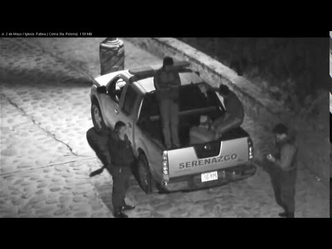SERENAZGO CAJAMARCA - Video Vigilancia Febrero 2014