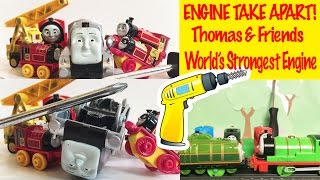 Thomas and Friends Engine Take Apart - World's Strongest Engine Kids Toys Thomas the Tank Engine