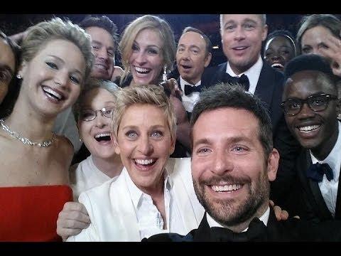 El 'selfie' de los Oscar bate récord Twitter