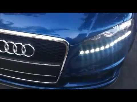 AUDI A4 B7 CUSTOM HEADLIGHT LED