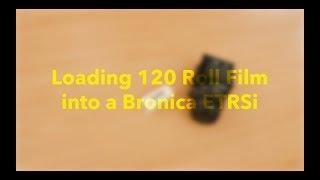 Bronica ETRSi Film Loading