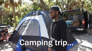This Big House: Spring Break Camping Trip: Family Vlog