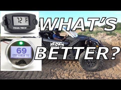 CVT belt temp gauge TEST! Trailtech vs Razorback!