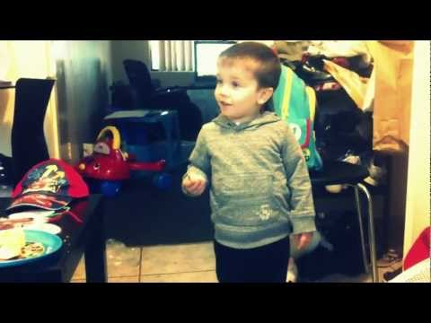 Tyler Dancing To Elmo's Song! video