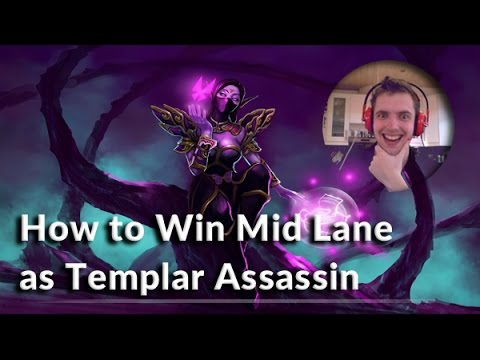 How to Win Mid Lane as Templar Assassin | How To Play Dota 2 | PVGNA.com