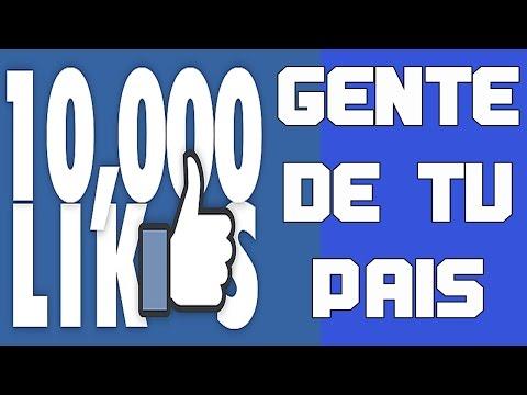 Como Tener Muchos Likes en Facebook 2016 | Gente de tu País | Junio - Actualizado