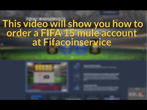 How to order at Fifacoinservice using 'Mule Account' method