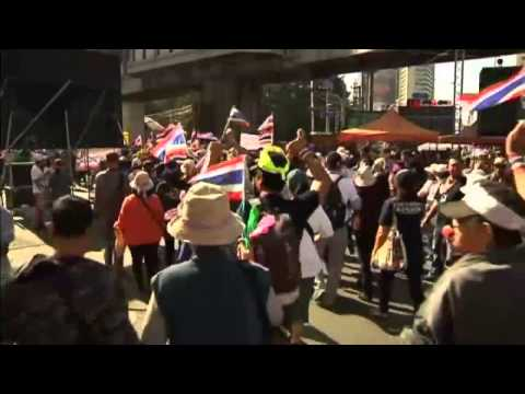 Thailand protesters continue anti-government demonstrations