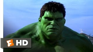 Hulk (2003) - Hulk Breaks Out Scene (7/10) | Movieclips
