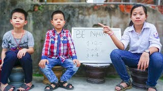 Trò Chơi Cô Giáo Thiên Vị - Cô Không Công Bằng Với Em - Bé Nhím TV - Đồ Chơi Trẻ Em Thiếu Nhi