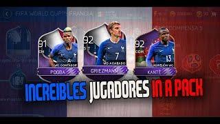 INCREIBLES ELITES FRANCESES!!!! JUGADORES TOP!! MI INCREIBLE EQUIPO DE FIFA MOBILE WORLD CUP