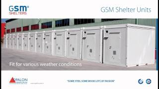 [OPALON Prefabricated Container Steel Structure GSM SHELTER] Video