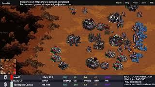 SSCAIT Report 75: Protoss assault on Terran Dominance