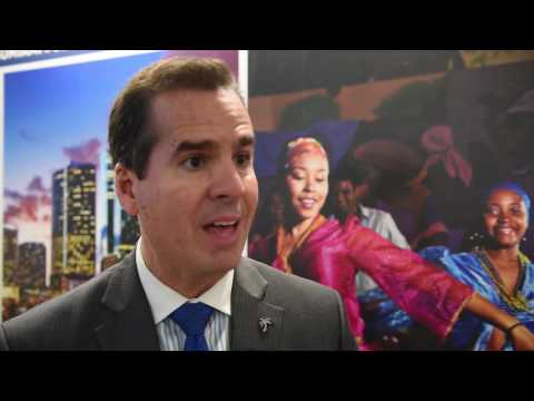 WTM 2016: Rolando Aedo, chief marketing officer for the Greater Miami Convention & Visitor Bureau