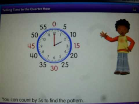 Visual Learning Bridge: Telling Time to the Quarter Hour