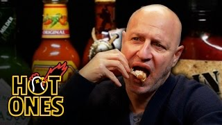 Tom Colicchio Goes Full Top Chef on Some Spicy Wings | Hot Ones
