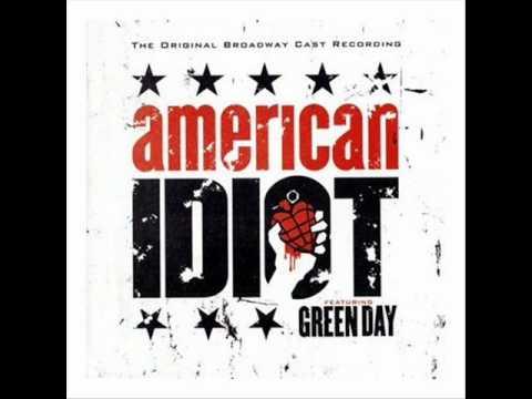 Original Broadway Musical American Idiot - 21 Guns