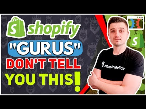 WHY YOU'VE BEEN LIED TO ABOUT ALIEXPRESS AND SHOPIFY DROPSHIPPING...