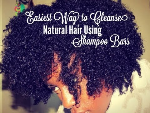 The Easiest Way To Cleanse Natural Hair Using Shampoo Bars   Belle Vie &amp  Giveaway