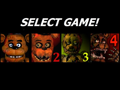Five Nights at Freddy's 1-4 Jumpscare Simulator