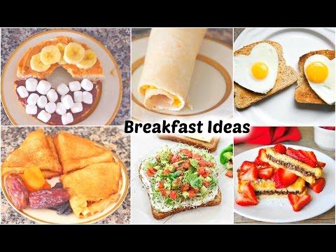 Healthy & Quick Breakfast Ideas!