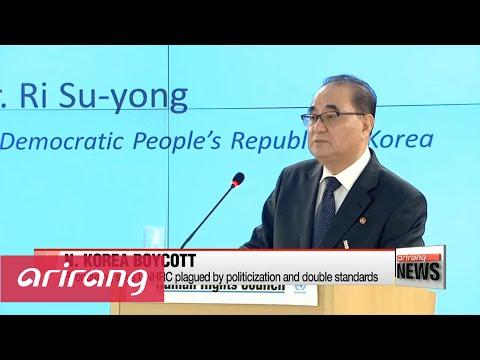 N. Korea says it will boycott UN human rights forum