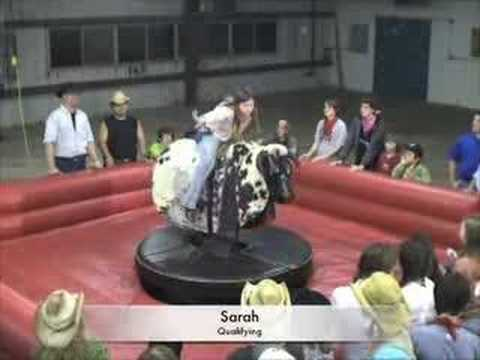 Middle School Girls Bull Riding