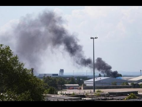 Бои за Донецкий аэропорт!!! 28.09.2014 НОВОСТИ