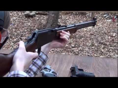 I got a Henry Lever gun for Christmas!