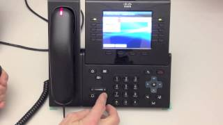 9951 Cisco IP phone tutorial