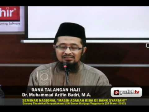 Video hukum haji dana talangan