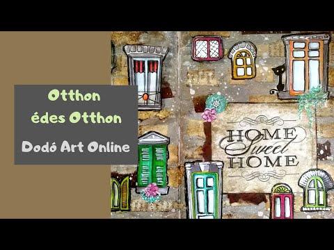 Otthon édes Otthon / Kreatív Naplózás