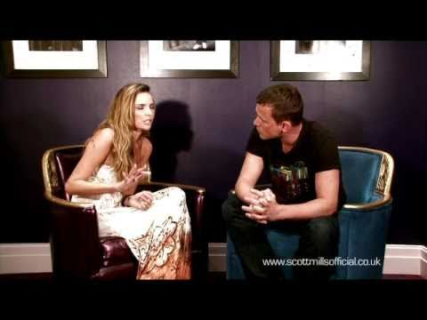 Nadine Coyle interviewed by Radio 1 DJ Scott Mills for  scottmillsofficial.co.uk