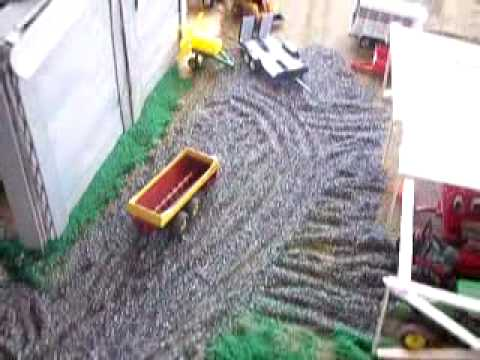 My 1 64 scale farm display youtube for 1 64 farm layouts