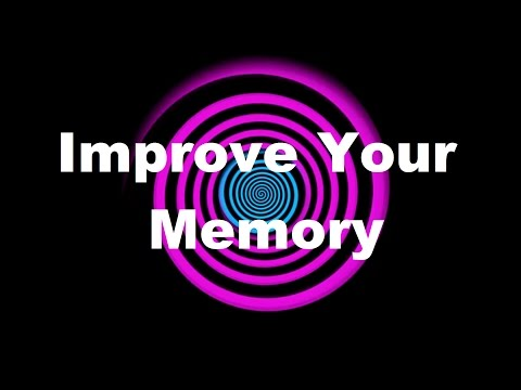 Hypnosis: Improve Your Memory (Request)