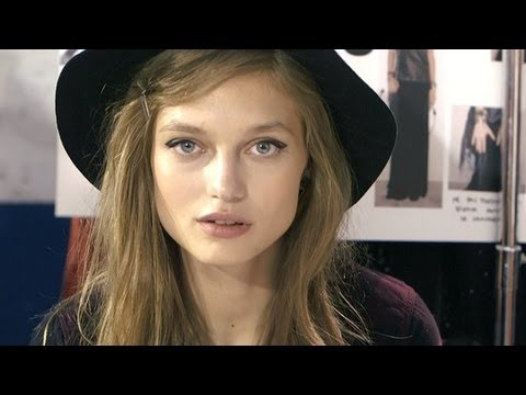 Zadig & Voltaire Runway Show Backstage | Fashion Week Spring 2014