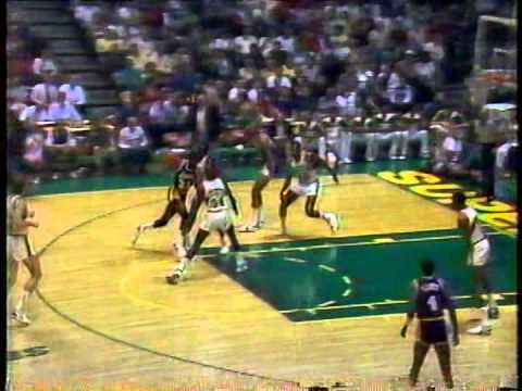 Magic Johnson Greatest Games: Triple-Double (34/10/13) vs Supersonics (1987)