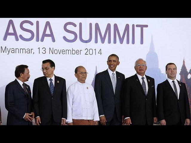 Doğu Asya Zirvesi'nde diplomasi trafiği