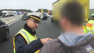 Geduld am Ende: Polizei führt Gaffer auf A6 zu Leiche